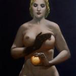 """""""La Main Noire"""" — 45 x 55"""